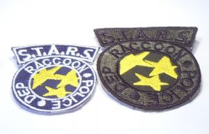 Resident Evil STARS RPD Patch Badge Crest Iron-on Set
